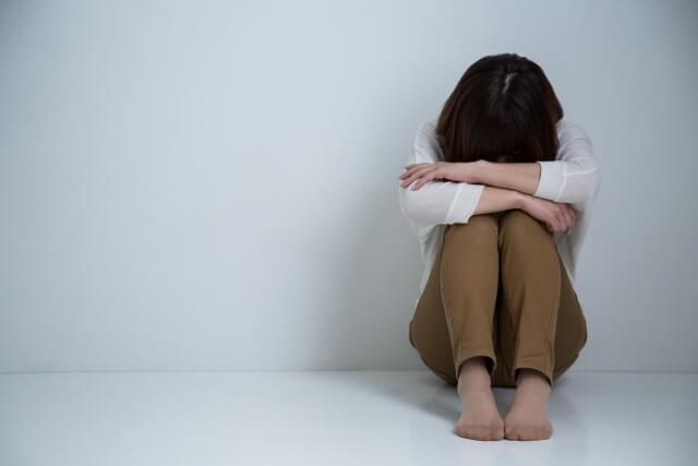 絶望の女性